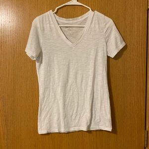 White Arizona V-Neck Tee Shirt